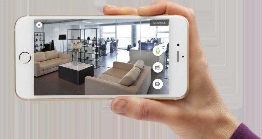 تصویر دوربین در موبایل
